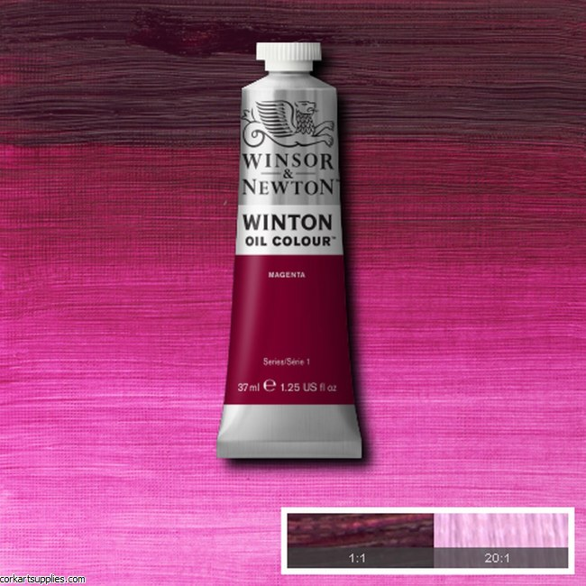 Winton Oil Colour 37ml Magenta
