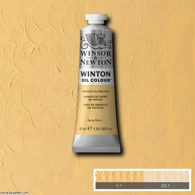 Winton Oil Colour 37ml Naples Yellow (Hue)
