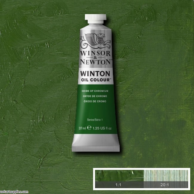 Winton Oil Colour 37ml Oxide Of Chromium