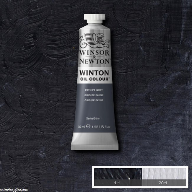 Winton Oil Colour 37ml Payne's Grey