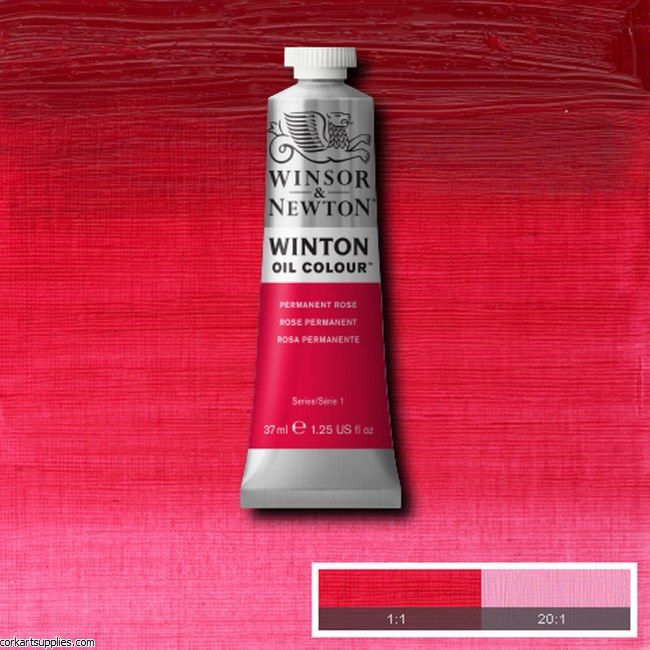 Winton Oil Colour 37ml Permanent Rose