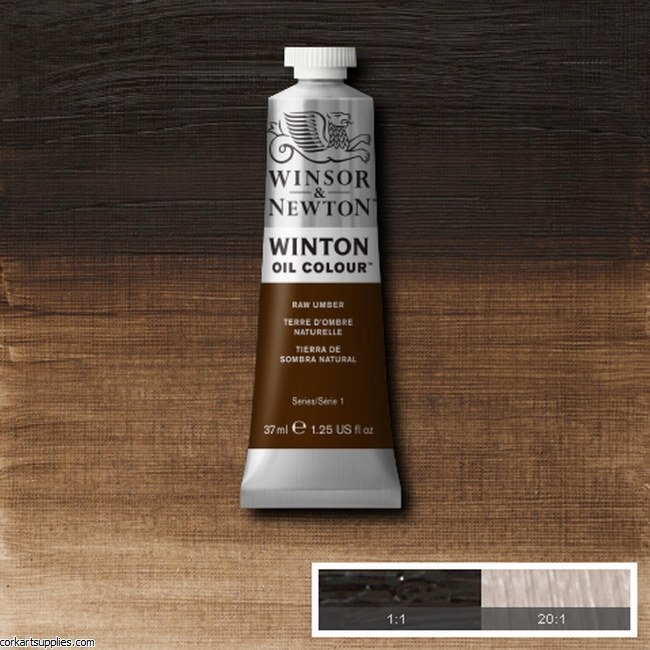Winton Oil Colour 37ml Raw Umber