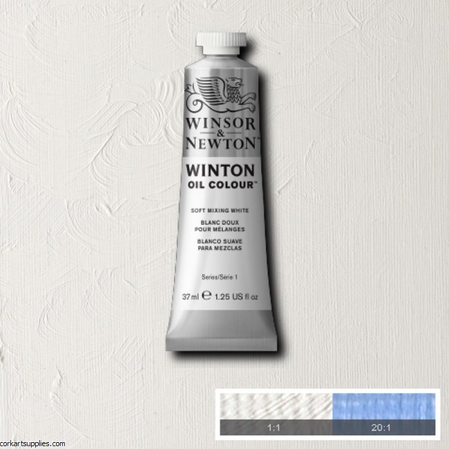 Winton Oil Colour 37ml Soft Mixing White