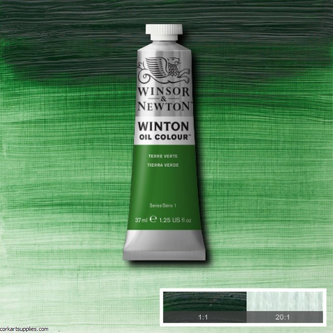 Winton Oil Colour 37ml Terre Verte