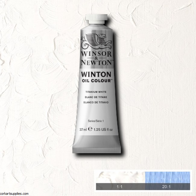 Winton Oil Colour 37ml Titanium White