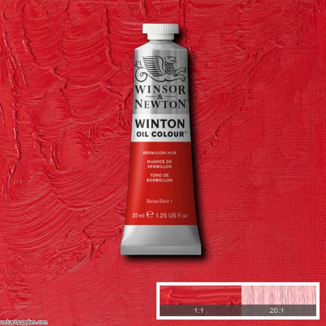 Winton Oil Colour 37ml Vermilion (Hue)