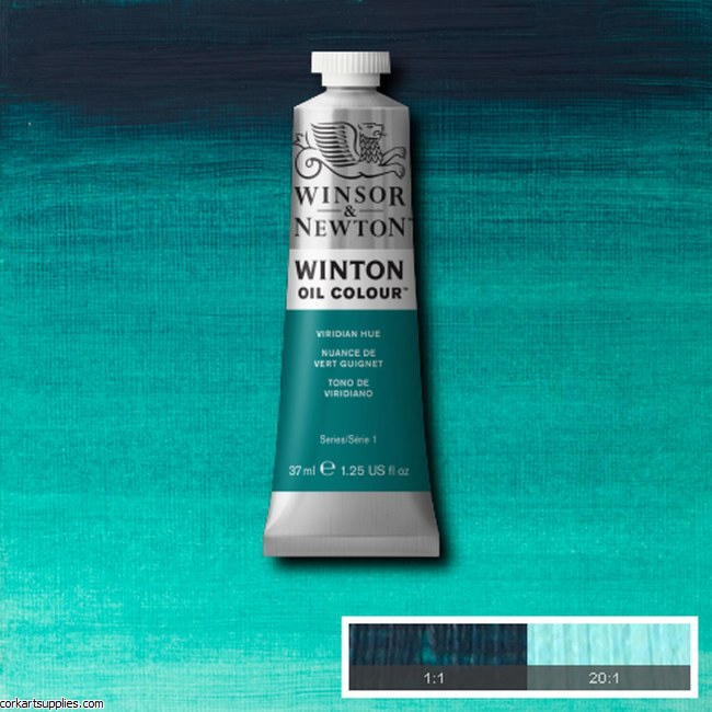 Winton Oil Colour 37ml Viridian (Hue) Phthalo