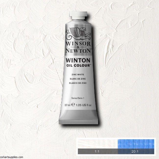 Winton Oil Colour 37ml Zinc White