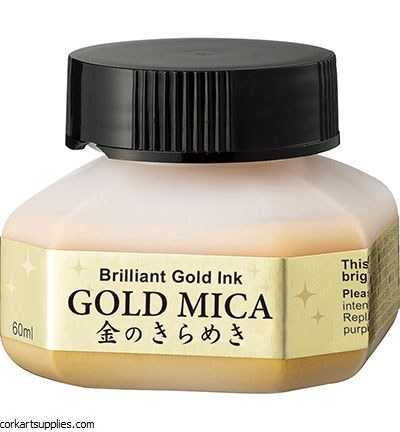 Kuretake Mica Ink Gold 60ml