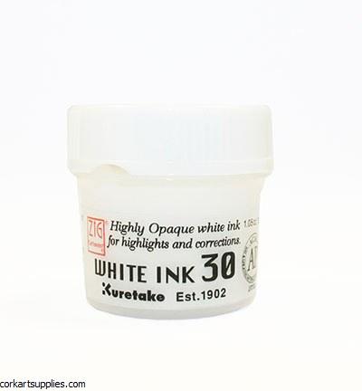 ZIG Caroonist White Ink 30g