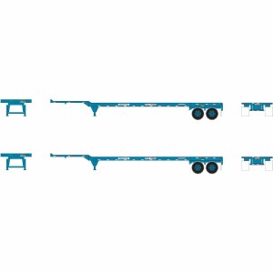 TP 45' CONT CHASSIS - 2 PACK
