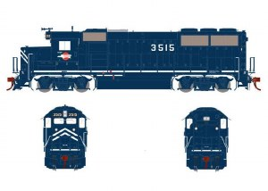 MP GP50 PH I #3515-DCC &SOUND
