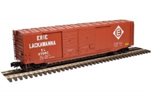 ERIE LACKWANNA 50' PS-1 BOXCAR