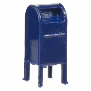 HO MAIL BOXES - 4 PIECES