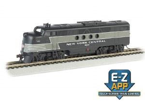 NYC FT #1600 W/E-Z APP TRAIN