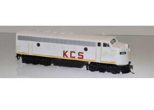 KCS F-7A #4057 W/SOUND