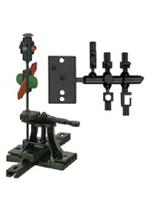 HO HIGH-LEVEL SWITCH STAND W/