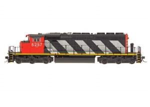 CN SD40-2W #5243 - DCC & SOUND