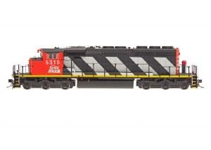 CN SD40-2W #5315 - DCC & SOUND