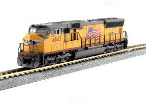 UP SD70M #4843 W/TCS DCC
