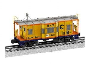 CHESSIE SYSTEM I12 CABOOSE