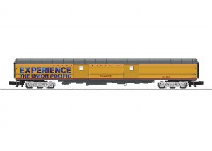 """UP 21"""" BAGGAGE CAR PROMONTORY"""