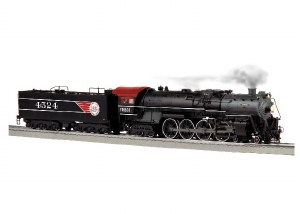 FRISCO #4524 4-8-4 STEAM
