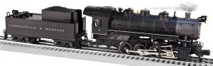 L&W #2 0-8-0 CONVENTIONAL