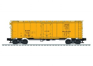 BAR 40' STEEL REEFER