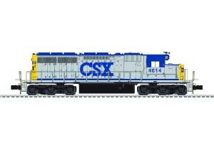 CSX SD40 #4614