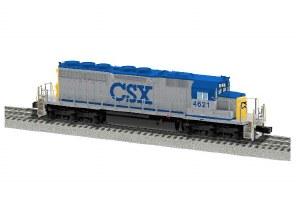 CSX SD40 #4621