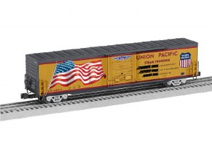 UP LED FLAG BOXCAR STEAM