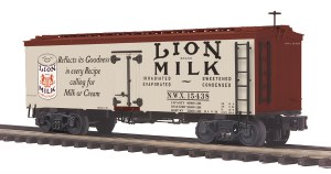 LION MILK 36' WOODSIDED REEFER