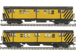 MTA R-17 2 CAR SUBWAY SET PS3