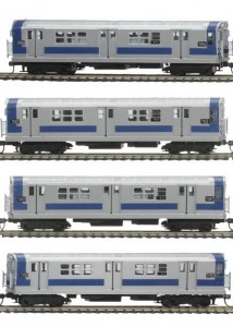 MTA R-21 4 CAR SUBWAY SET PS3