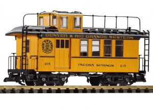 D&RGW DROVERS CABOOSE #215