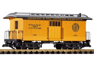 D&RGW WOOD BAGGAGE #126