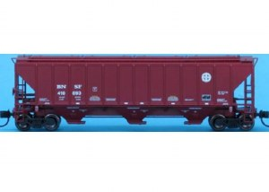 BNSF PS2 3-BAY COVERED HOPPER