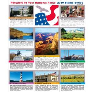 2019 Passport® Stamp Set