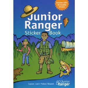 Junior Ranger Sticker Book