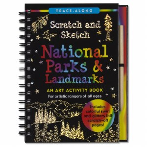 Scratch and Sketch National Parks & Landmarks