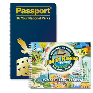 Passport To Your National Parks® and Junior Ranger Passport® Combo