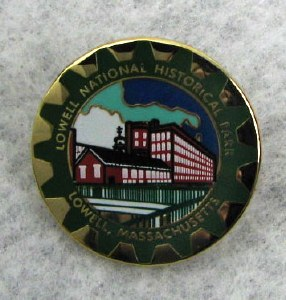 Lowell National Historical Park Lapel Pin