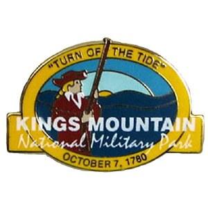 Kings Mountain NMP Lapel Pin