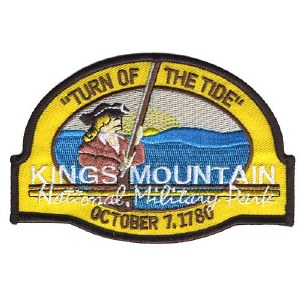 Kings Mountain National Military Park Patch