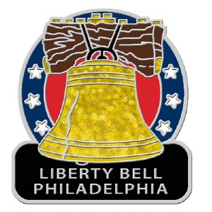 Liberty Bell Lapel Pin