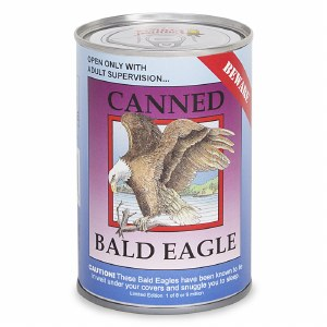 Canned Critters Bald Eagle