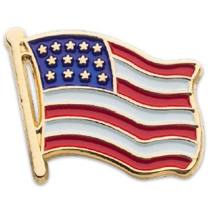 American Flag Lapel Pin - Collector's Edition