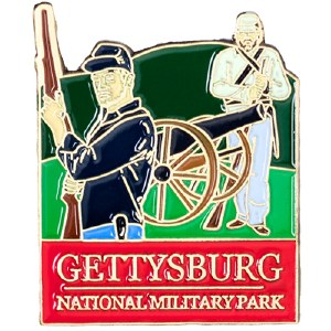 Gettysburg Cannon Pin