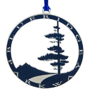 Blue Ridge Parkway Logo Ornament